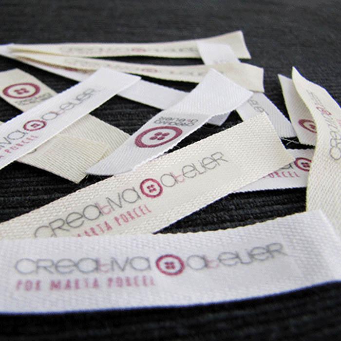 como hacer etiquetas para la ropa
